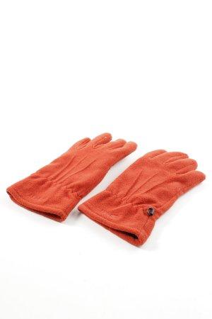 Esprit Fleece Gloves light orange casual look