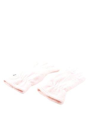 Esprit Guanto in pile rosa stile casual