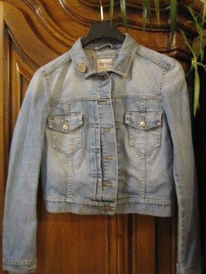 ESPRIT - flotte Jeansjacke ausgewaschener Style  - Gr. S