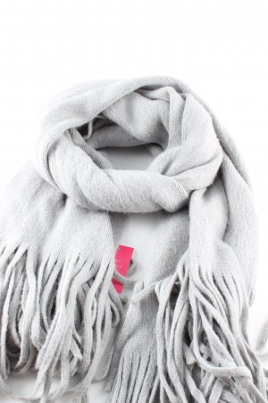 Esprit Fringed Scarf light grey casual look