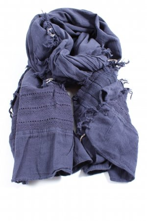 Esprit Fringed Scarf blue casual look