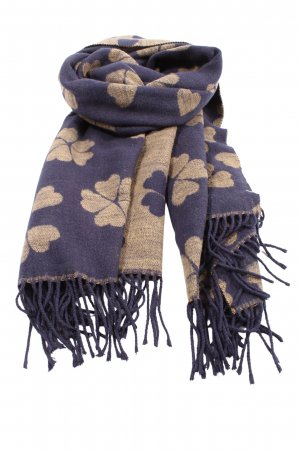 Esprit Fringed Scarf lilac-cream allover print casual look