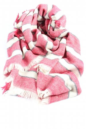 Esprit Fringed Scarf striped pattern casual look