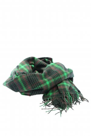 Esprit Fringed Scarf check pattern casual look