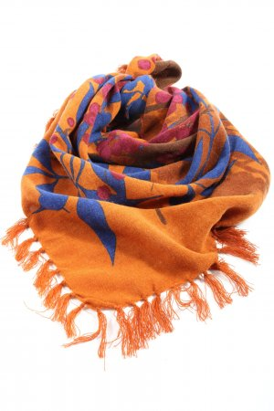 Esprit Fringed Scarf allover print casual look