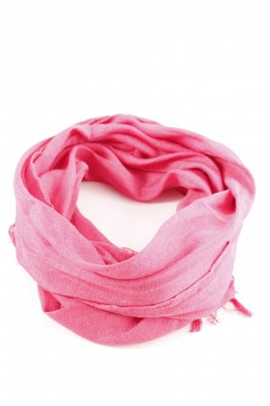 Esprit Fransenschal pink Casual-Look