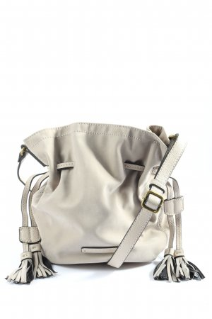 Esprit Fringed Bag light grey casual look