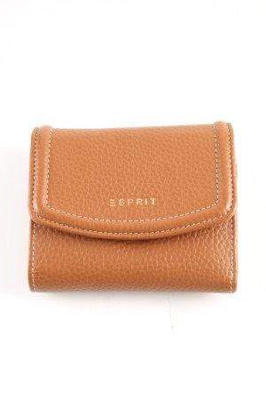 Esprit Geldbörse braun Business-Look