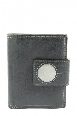 Esprit Geldbörse schwarz-silberfarben Casual-Look