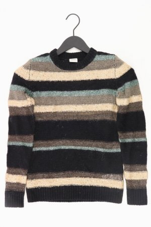 Esprit gestreifter Pullover Größe S schwarz aus Polyacryl
