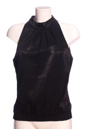 Esprit Glanzbluse schwarz Elegant