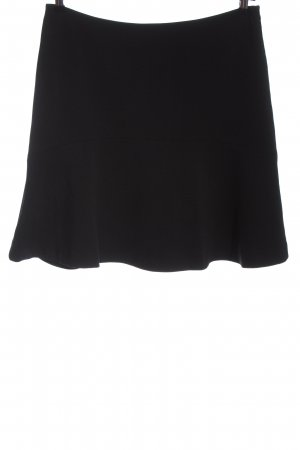 Esprit Glockenrock schwarz Streifenmuster Casual-Look