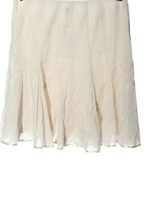 Esprit Flared Skirt natural white elegant