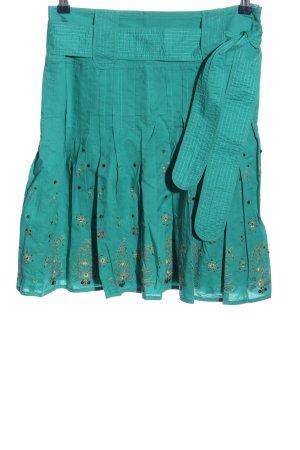 Esprit Rozkloszowana spódnica turkusowy W stylu casual