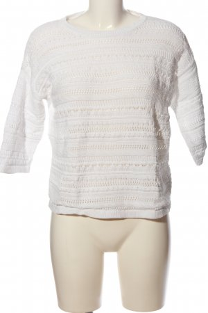 Esprit Coarse Knitted Sweater white casual look