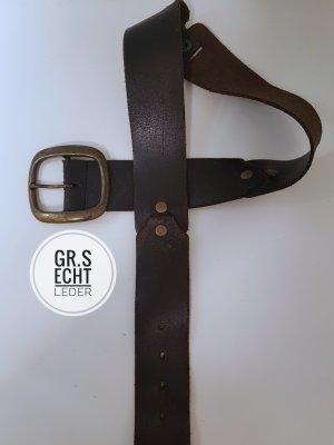 Esprit Leather Belt black brown