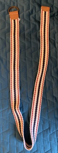Esprit Cinturón de tela multicolor