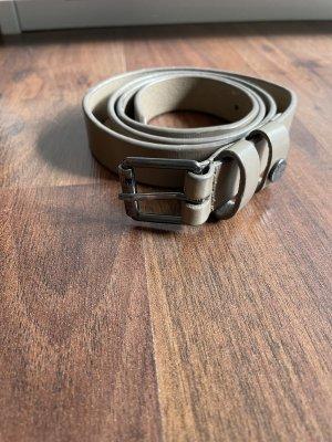 Esprit Cinturón de cuero de imitación multicolor
