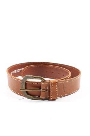 Esprit Hebilla del cinturón marrón look casual