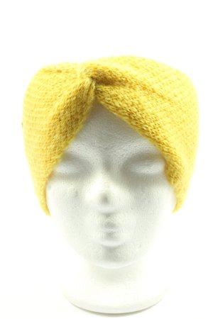 Esprit Opaska na włosy bladożółty Siateczkowy wzór W stylu casual