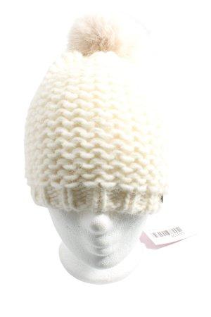 Esprit Crochet Cap natural white casual look