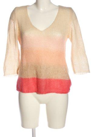 Esprit Gehaakte trui nude-rood casual uitstraling