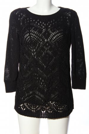 Esprit Crochet Sweater black casual look