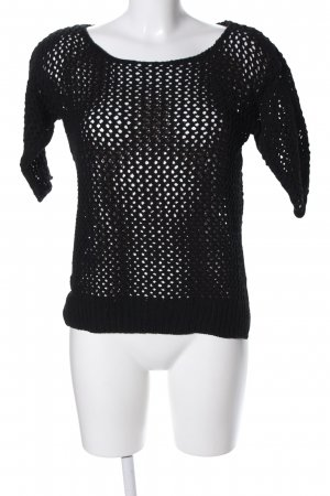 Esprit Crochet Shirt black casual look