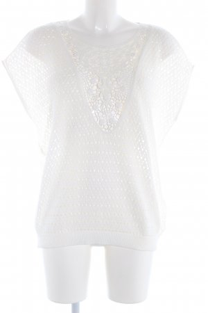 Esprit Crochet Shirt white casual look