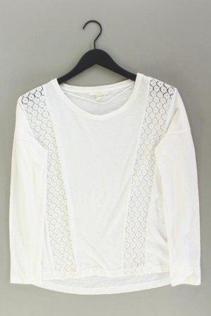 Esprit Top en maille crochet blanc cassé coton