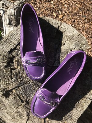 Esprit Halbschuhe Gr 37, Violett