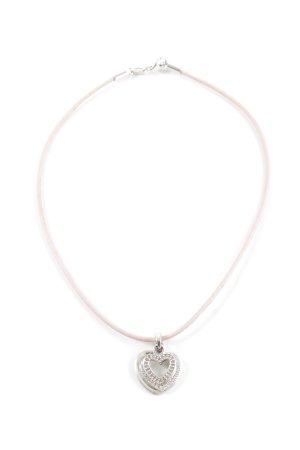 Esprit Halskette pink-silberfarben Business-Look