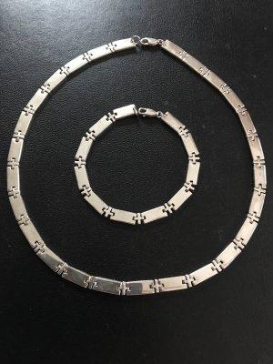 Esprit Halskette und Armband  Silber 925