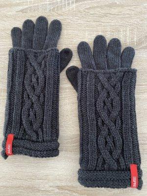 Esprit Handschuhe mit Stulpen 2in1 Grau