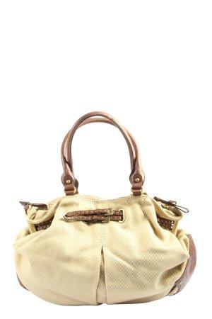 Esprit Handtasche wollweiß-braun Casual-Look