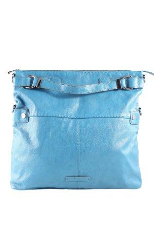 Esprit Handtasche blau Business-Look