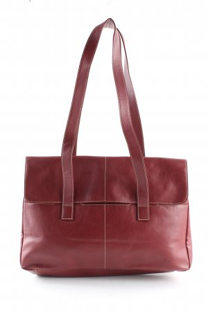 Esprit Handtasche rot Business-Look