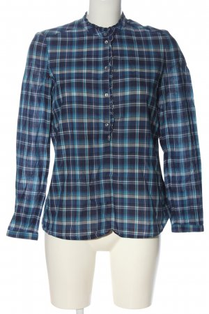 Esprit Hemd-Bluse blau Allover-Druck Elegant