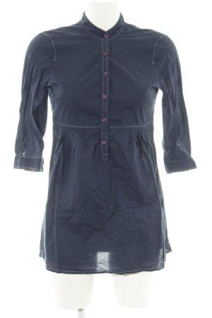 Esprit Hemd-Bluse blau Casual-Look