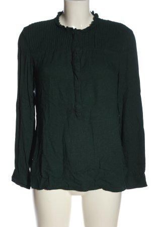 Esprit Hemd-Bluse grün Casual-Look
