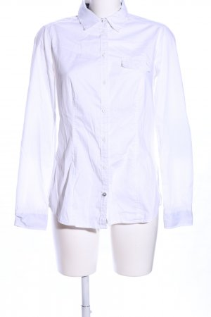 Esprit Hemd-Bluse weiß Casual-Look