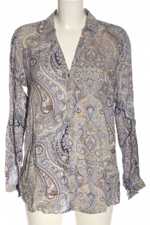 Esprit Hemd-Bluse abstraktes Muster Elegant
