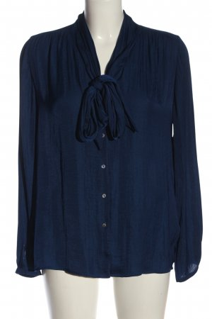 Esprit Hemd-Bluse blau Business-Look