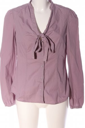 Esprit Hemd-Bluse lila Business-Look