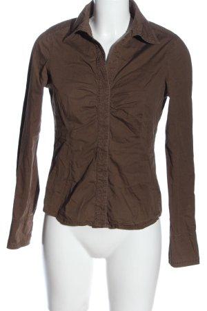 Esprit Hemd-Bluse braun Casual-Look