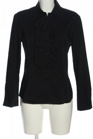 Esprit Hemd-Bluse schwarz Casual-Look