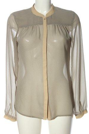 Esprit Hemd-Bluse Allover-Druck Elegant