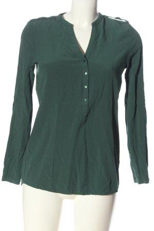 Esprit Hemd-Bluse grün Business-Look