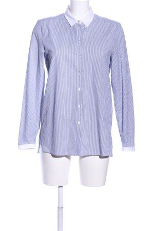 Esprit Hemd-Bluse blau-weiß Streifenmuster Business-Look