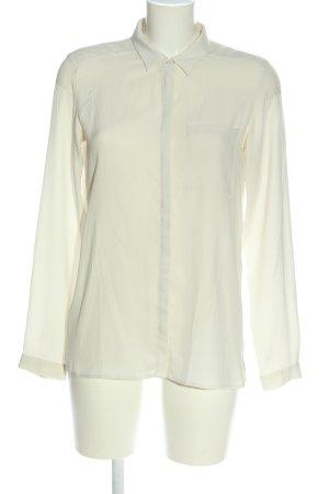 Esprit Hemd-Bluse wollweiß Business-Look
